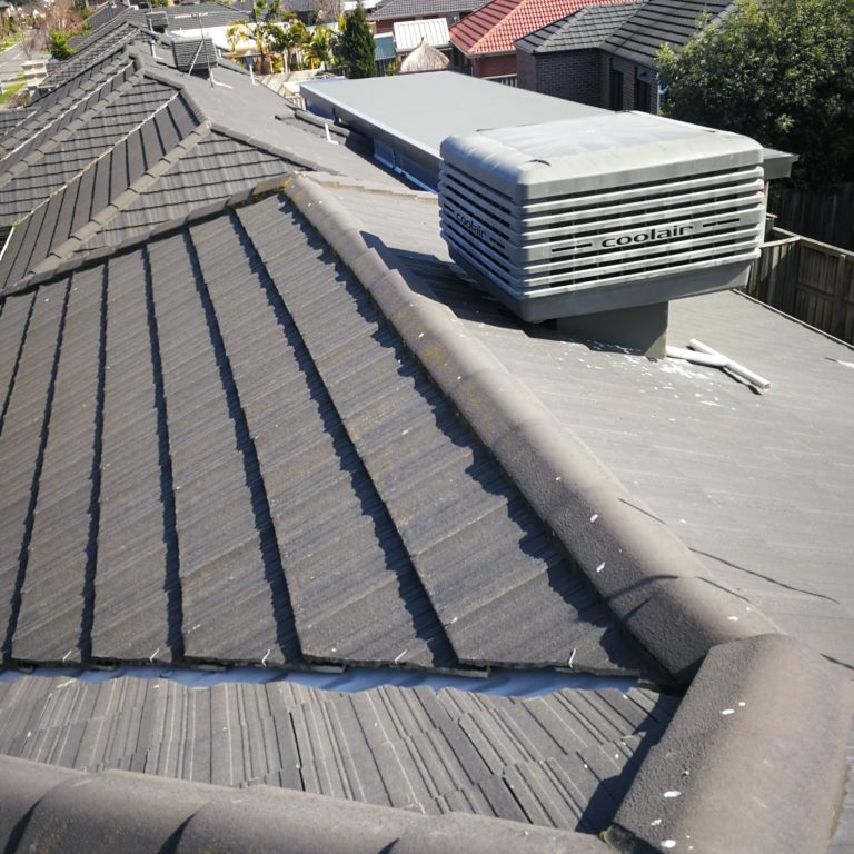 cracked roof ridge capping