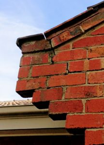 cracks in brickwork